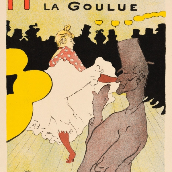 "Product Photo of ""Moulin Rouge: La Goulue"" (Jules Cheret) Henri de Toulouse-Lautrec, 1896"