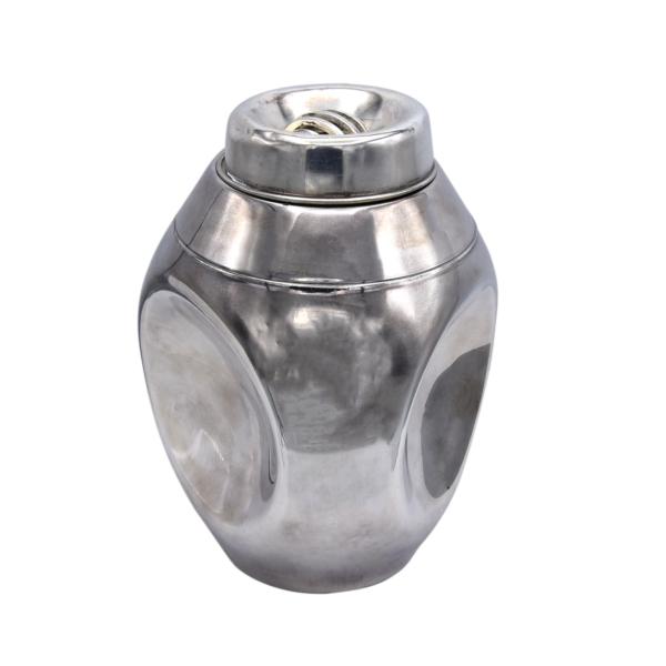 Meriden Int. Silver Co. Pinch Decanter, 1925