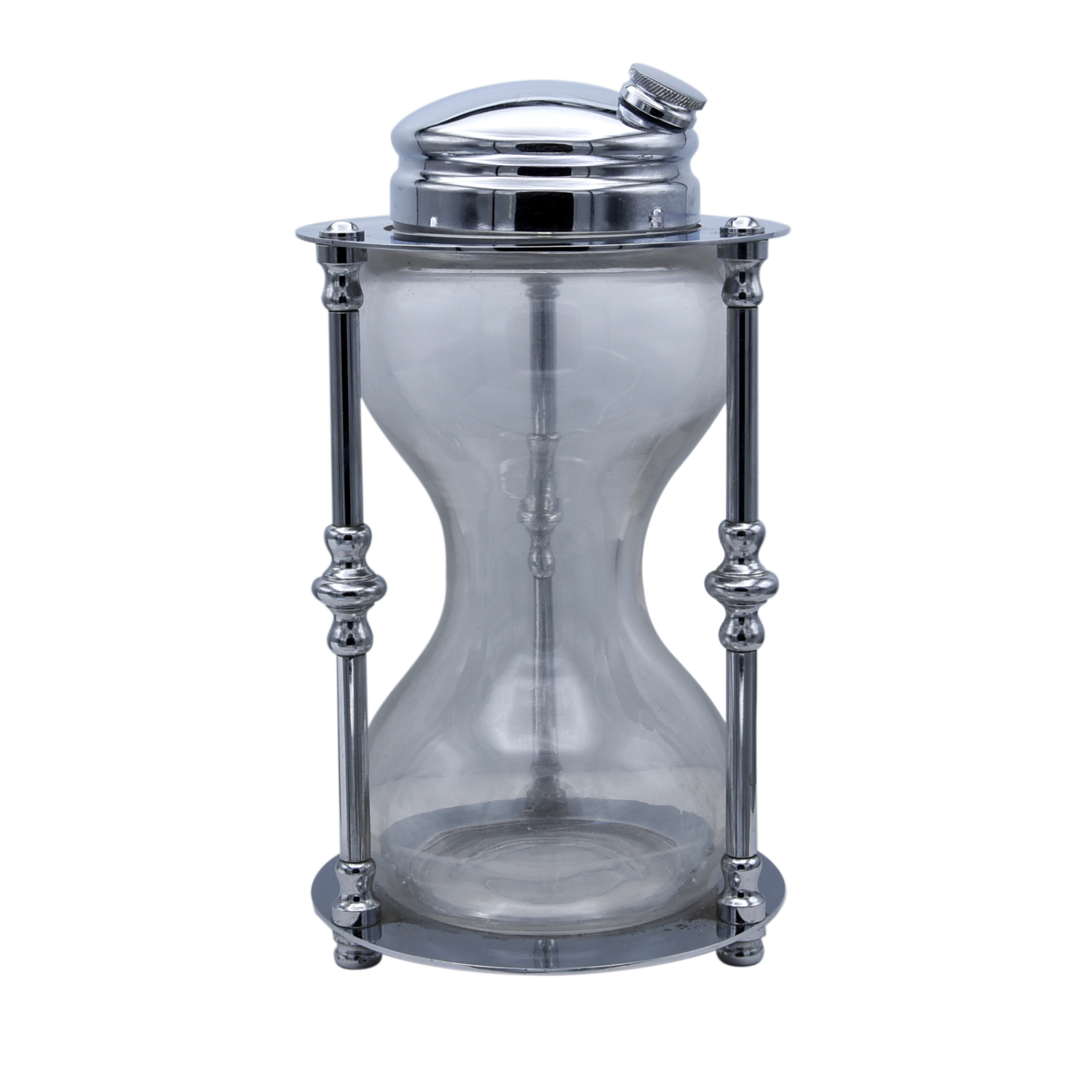 "Maxwell Phillips ""Time for Cocktails"" Hourglass Shaker"