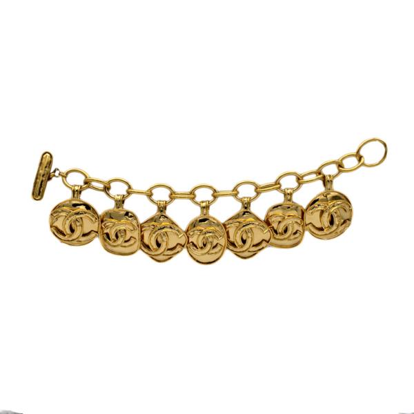 Chanel Chunky CHANEL PARIS Charms Bracelet, Spring 1994